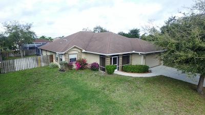 Port Saint Lucie Single Family Home For Sale: 549 SW Undallo Road