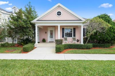 Jupiter Single Family Home For Sale: 212 Juniper Way