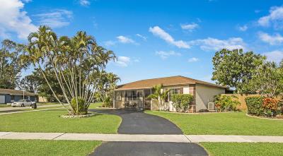 Boca Raton Single Family Home For Sale: 9671 Colorado Court