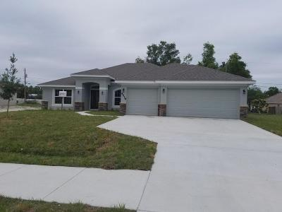 Port Saint Lucie Single Family Home For Sale: 4978 NW Manville Drive