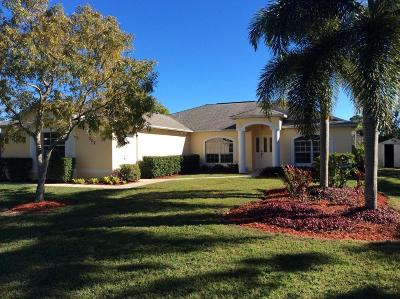 Port Saint Lucie Single Family Home For Sale: 202 SW Chelsea Terrace
