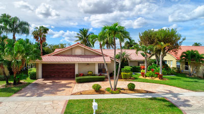 Boca Raton Single Family Home For Sale: 11211 Island Lakes Lane