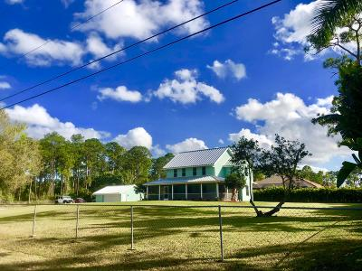 Loxahatchee Single Family Home For Sale: 17394 SE 75th Place