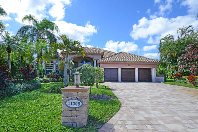 Boynton Beach Single Family Home For Sale: 11308 Westland Circle
