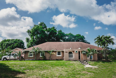 Loxahatchee Single Family Home For Sale: 18726 50th Street