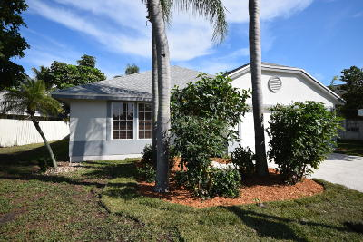 Boynton Beach FL Single Family Home For Sale: $309,900