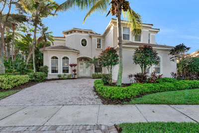 Palm Beach Gardens Single Family Home For Sale: 346 Vizcaya Drive