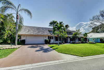 Hobe Sound Single Family Home For Sale: 10471 SE Jupiter Narrows Drive