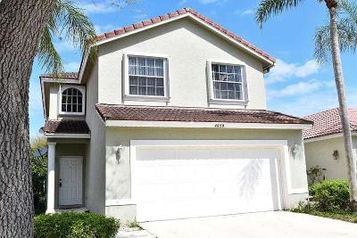 Boynton Beach FL Single Family Home For Sale: $318,000