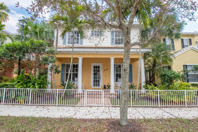Jupiter Single Family Home For Sale: 224 W Bay Cedar Circle