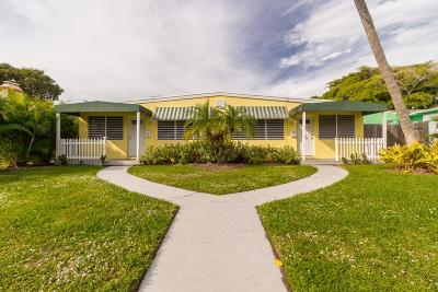 Delray Beach FL Multi Family Home For Sale: $750,000