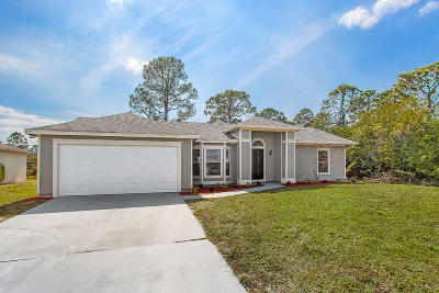 Port Saint Lucie Single Family Home For Sale: 1482 SW Jacksonville Avenue