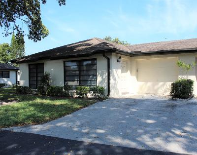 Boynton Beach FL Single Family Home For Sale: $164,900