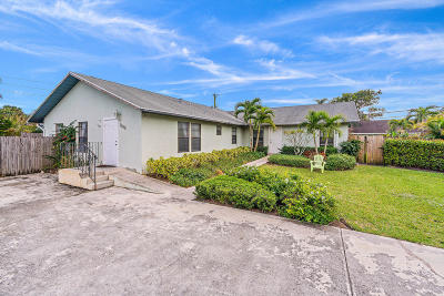 Jupiter Multi Family Home For Sale: 6030 Wolfe Street