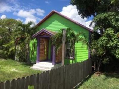 Lake Worth Single Family Home For Sale: 421 K Street