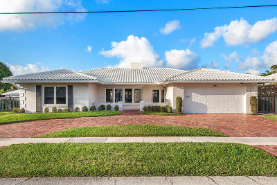 Boca Raton Single Family Home For Sale: 691 Elm Tree Lane