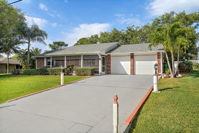 Port Saint Lucie Single Family Home For Sale: 1982 SE Manth Lane