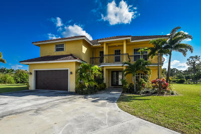 West Palm Beach Single Family Home For Sale: 15172 96th Lane