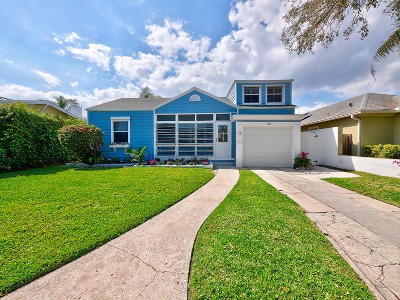 Lake Worth Single Family Home For Sale: 515 Palmway