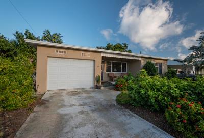 Lake Worth Single Family Home For Sale: 1430 K Street