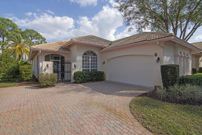 Port Saint Lucie Single Family Home For Sale: 7218 Mystic Way