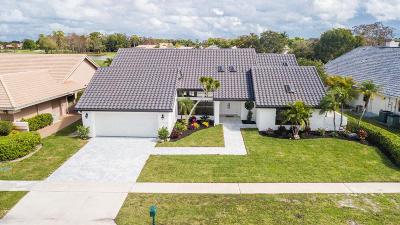 Boca Raton Single Family Home For Sale: 10803 Boca Woods Lane