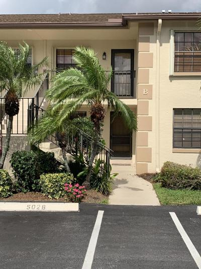 Jupiter Condo For Sale: 501 Pinecrest Circle #B