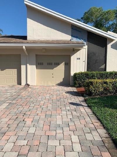 Lake Worth Single Family Home Contingent: 6991 Clover Court