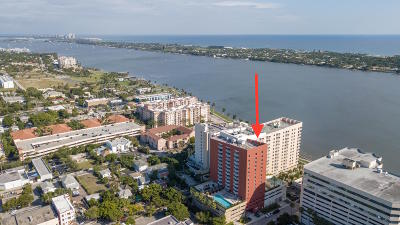 West Palm Beach Rental For Rent: 1551 Flagler Drive #915