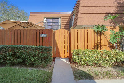 Jupiter Townhouse For Sale: 2923 29th Court