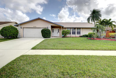 Lake Worth Single Family Home For Sale: 5340 Plains Drive