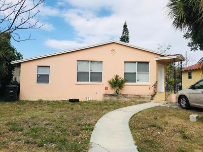 West Palm Beach Multi Family Home For Sale: 639 33rd Street