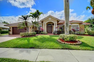 Boca Raton Single Family Home For Sale: 19156 Cloister Lake Lane