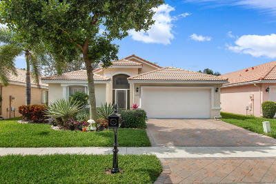 Boynton Beach Single Family Home For Sale: 12057 Aprilia Drive
