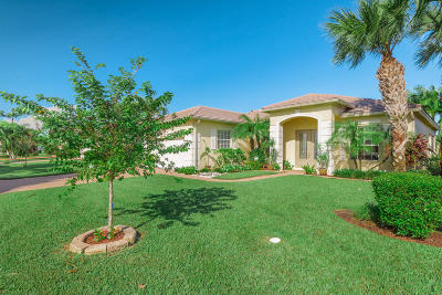 Port Saint Lucie Single Family Home For Sale: 706 SW Myakka River Trace