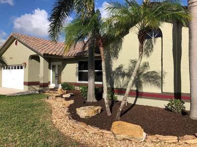 Coconut Creek Single Family Home Contingent: 4954 NW 47th Avenue