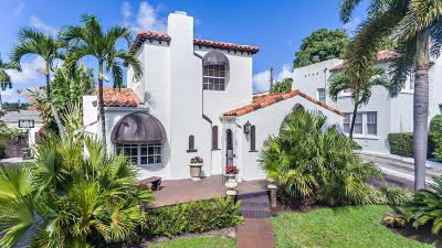 West Palm Beach Single Family Home For Sale: 717 Biscayne Drive