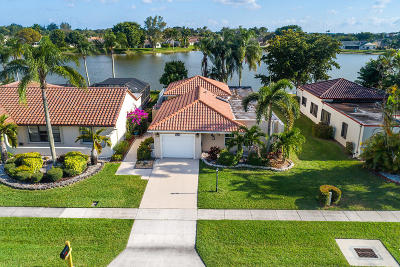 Lake Worth, Lakeworth Single Family Home For Sale: 8353 Bonita Isle Drive
