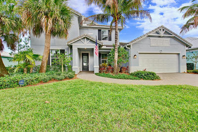 Jupiter Single Family Home For Sale: 111 Shores Point Drive
