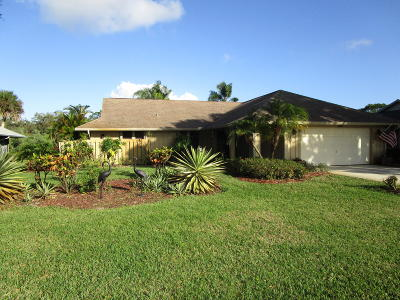 Hobe Sound Single Family Home For Sale: 13119 SE Spyglass Court