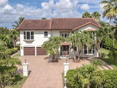Highland Beach Single Family Home For Sale: 4108 S Ocean Boulevard