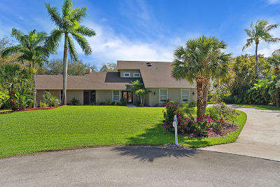 Hobe Sound Single Family Home For Sale: 8048 SE Pilots Cove Terrace