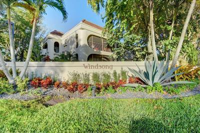 Boca Raton Condo For Sale: 6314 Longboat Lane W #102 A