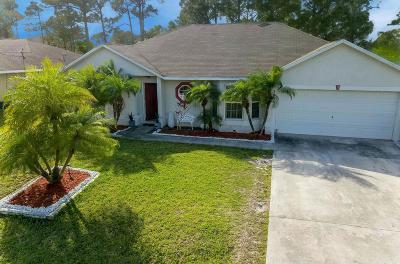 Port Saint Lucie Single Family Home For Sale: 2998 SW Vittorio Street