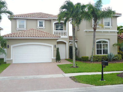 Lake Worth, Lakeworth Single Family Home For Sale: 6887 Houlton Circle