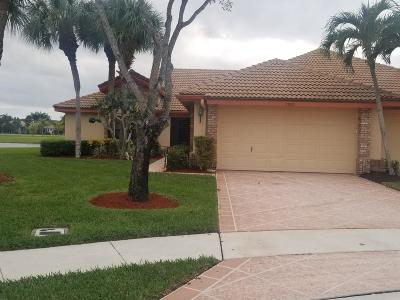 Boynton Beach Single Family Home For Sale: 7500 Hearth Stone Avenue