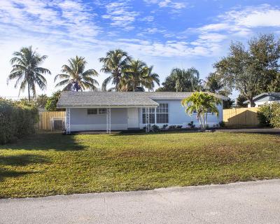 West Palm Beach Single Family Home For Sale: 2362 Kentucky Street