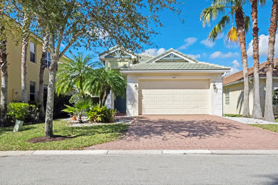 Royal Palm Beach Single Family Home Contingent: 459 Belle Grove Lane