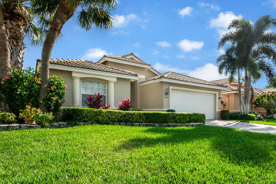 Delray Beach Single Family Home For Sale: 6589 Via Trento