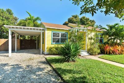 Delray Beach FL Single Family Home For Sale: $265,000